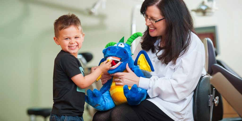 Mom and Son at Berkman & Shapiro Orthodontics, Commerce Township, MI 48382